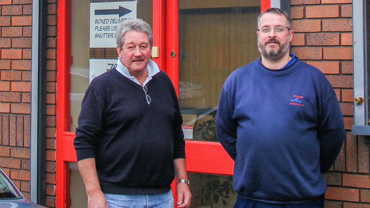 Bob Stapley and Staff